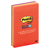 POST1152 Post-it Notes Super Sticky 101x152 Lined