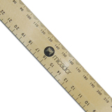 COS Micador Mega Wooden Ruler 1m
