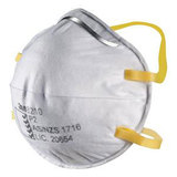 3M Cupped Particulate Respirator 8210 P2