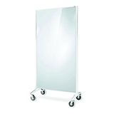 COS Mobile Screen Divider Glass/Pinboard