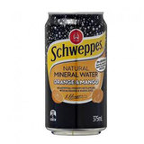 COS Schweppes Mineral Water Orange & Mango