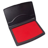 COS DeskMate Stamp Pad No 1 106 x 67mm Red
