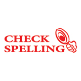 Shiny Stamp Teachers Check Spelling