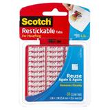COS Scotch Restickable Mounting Tabs 25.4mm