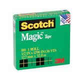 COS Scotch Magic Tape 810 12mm x 33m