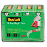 COS Scotch Magic Tape 810 19mm x 25m Pk4
