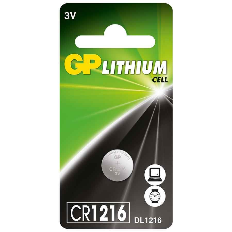 gp lithium cr2016 3v coin cell battery batt3016 cos complete office supplies. Black Bedroom Furniture Sets. Home Design Ideas