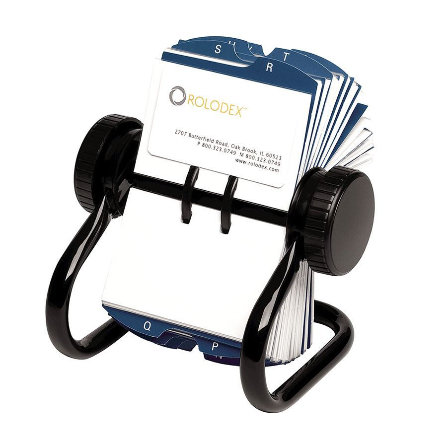 Rolodex rotary business card holder busi2000 cos complete rolodex rotary business card holder reheart Gallery