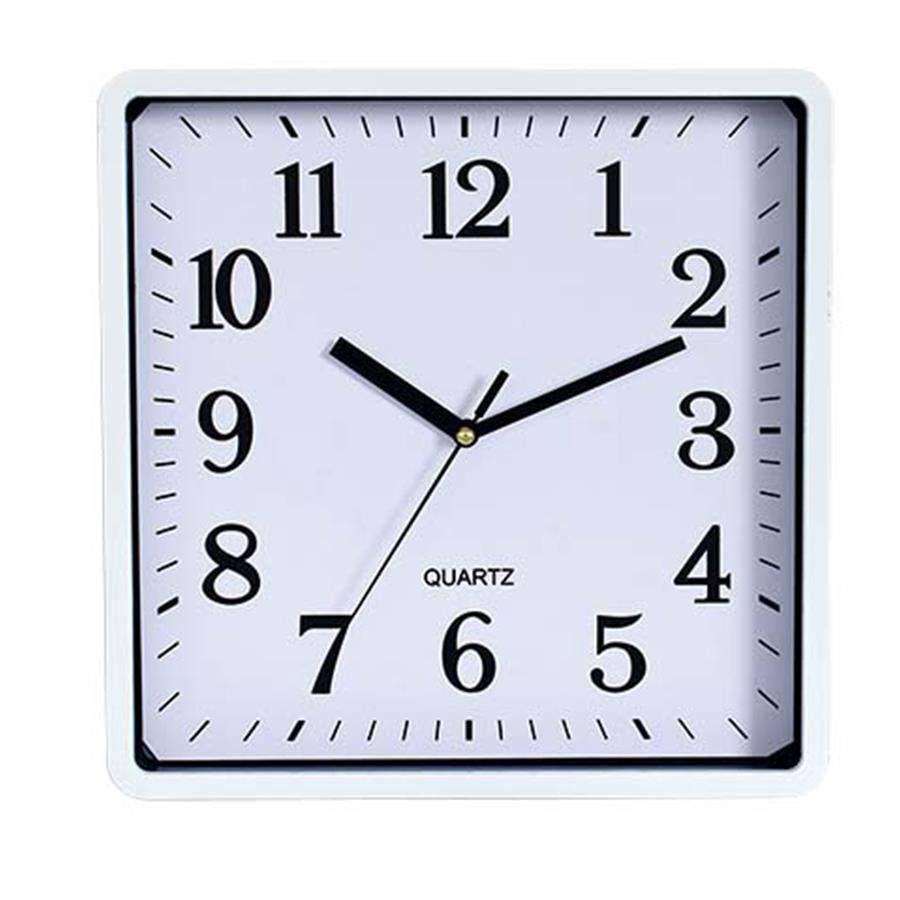 Carven 250mm Wall Clock Square Cloc5015 Cos Complete