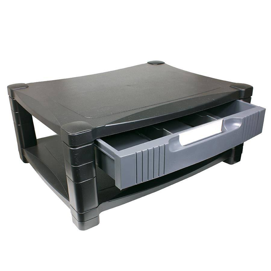 drawers side and stand pack quantity out black with pull drawer riser mesh halter product compartments monitor metal