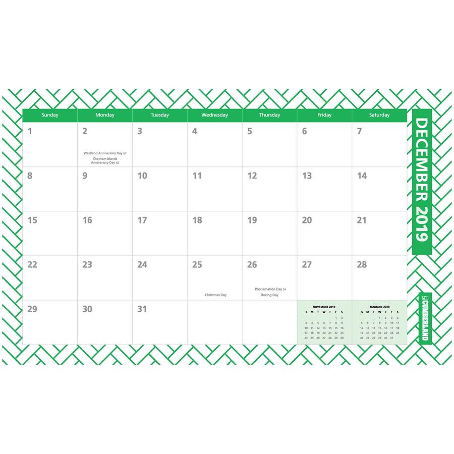 Desk Wall Fashion Planner Monthly 2019 Dia15549 Cos Complete
