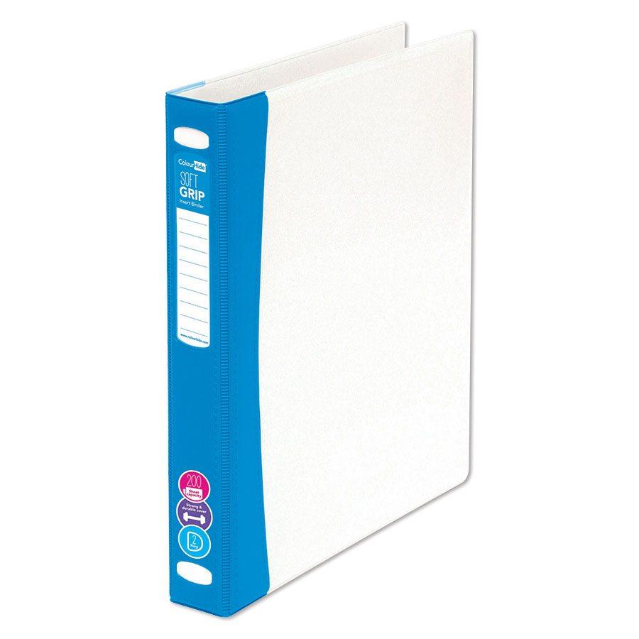 colourhide insert binder a4 2 ring 25mm file5090 cos complete