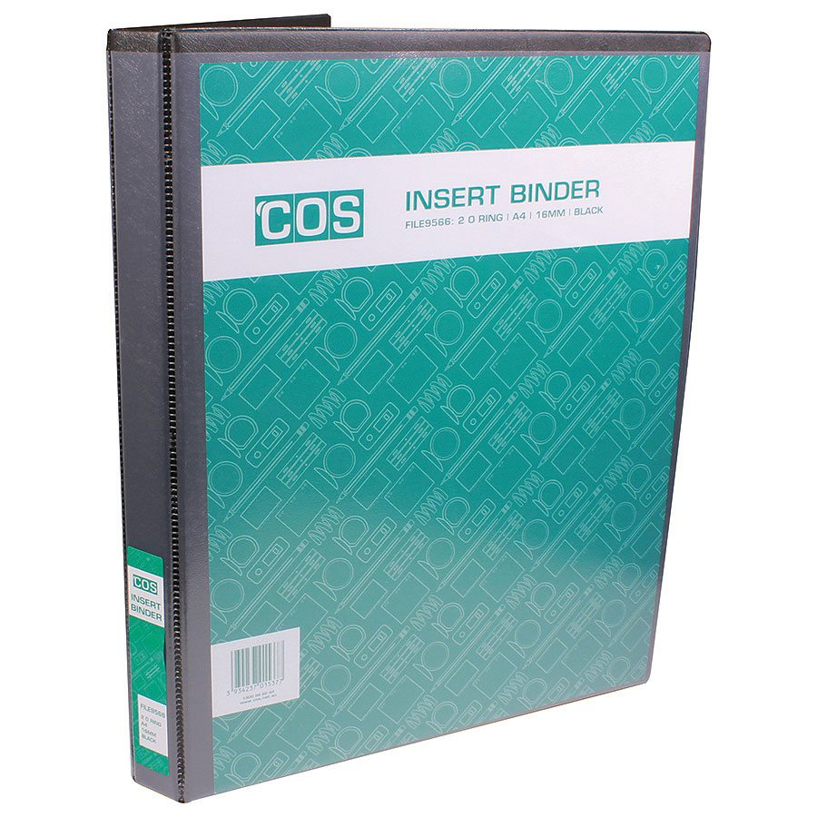 COS Insert Binder A4 2 Ring 16mm - FILE9566