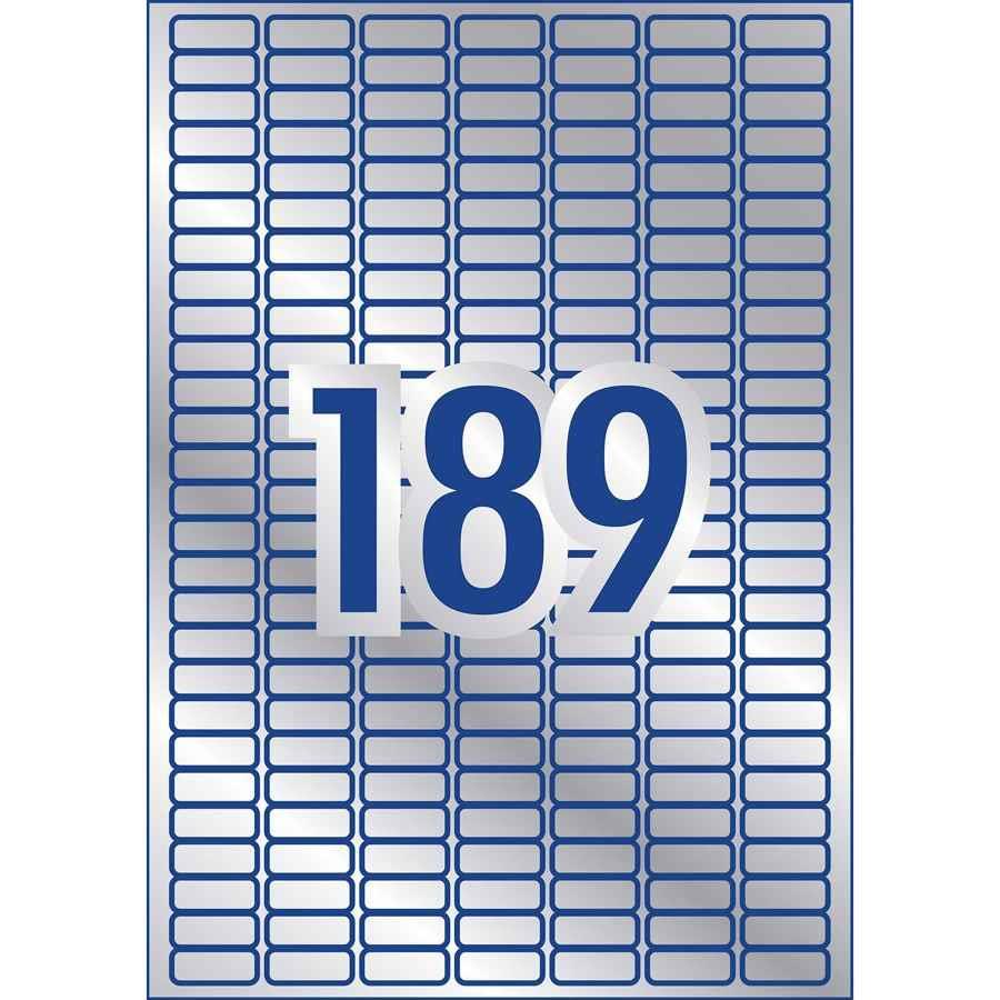COS Avery Heavy Duty Labels 189 Per Sheet