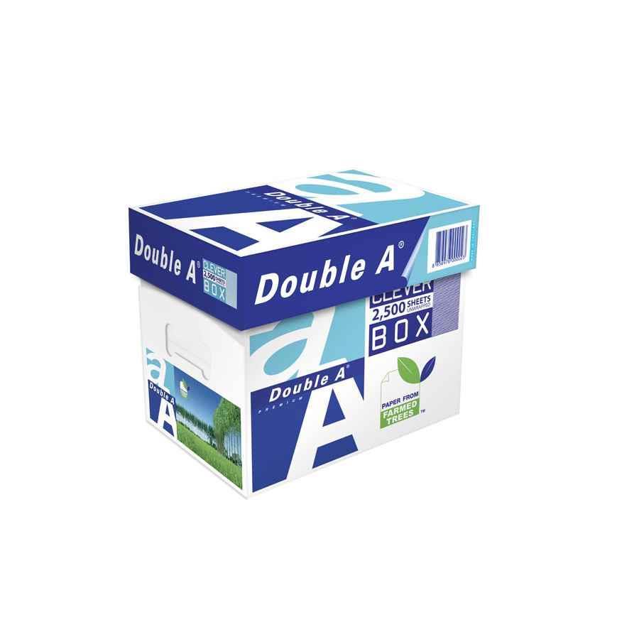 Double A Cleverbox A4 80gsm Copy Paper - PAPE7905   COS