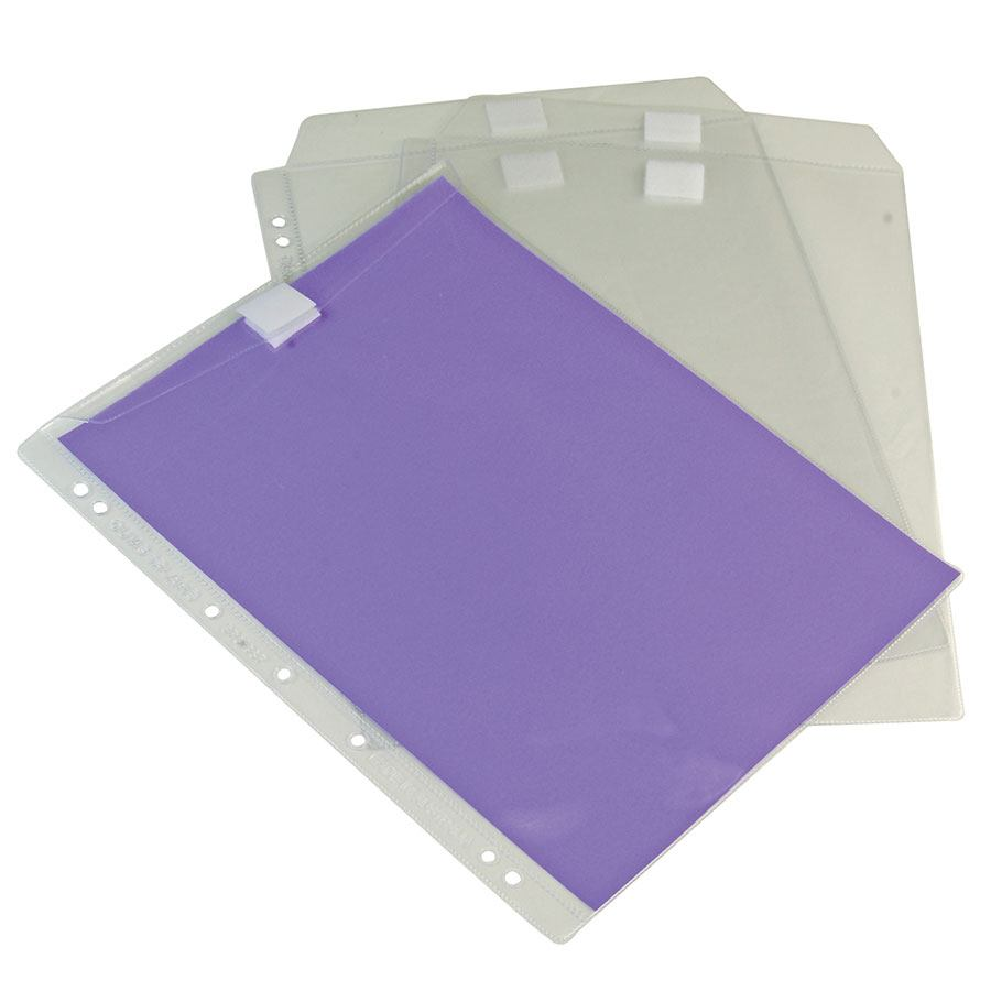 Cumberland Sheet Protector Hduty W/Flap - POCK2055