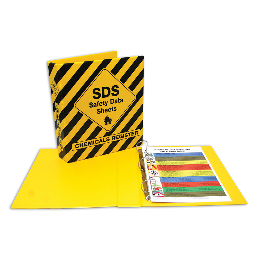 COS SDS 40mm 2D Ring Binder Yellow