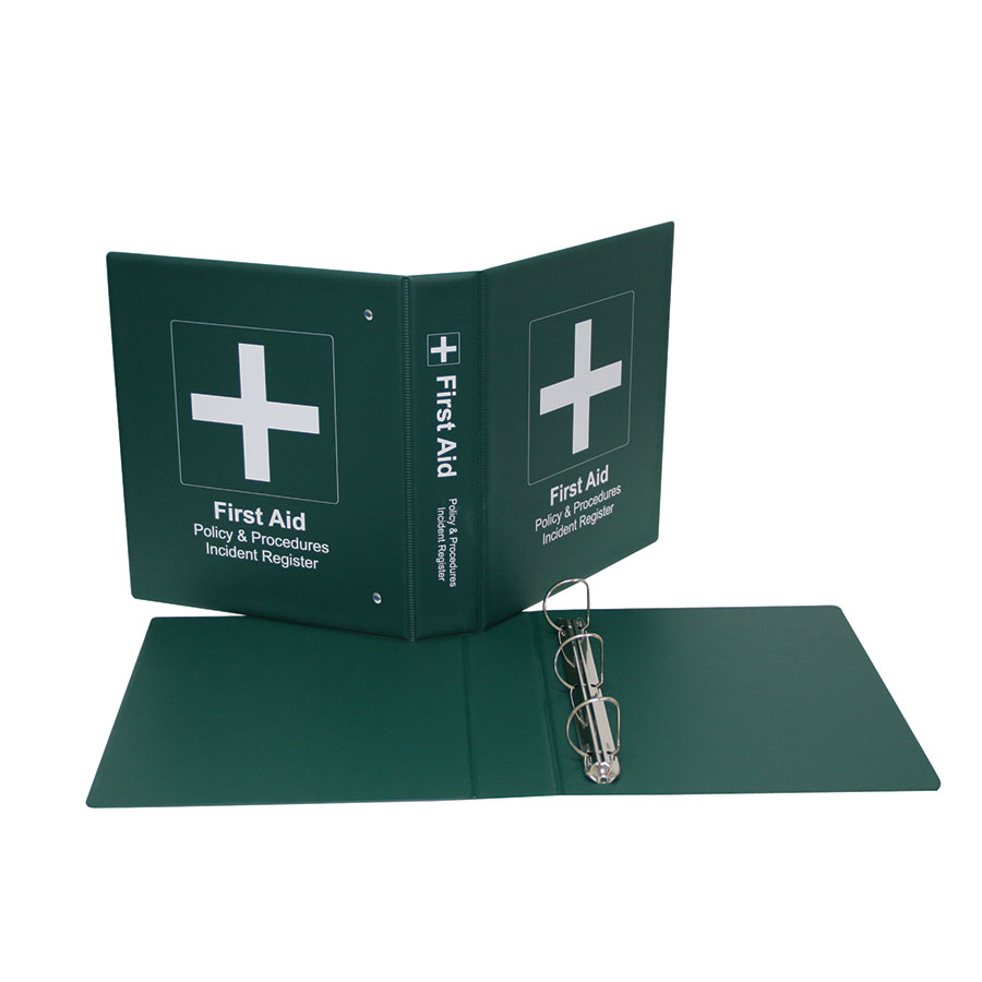 COS First Aid 40mm 2 Ring Binder
