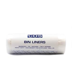 COS Bin Liner HD 760x900mm 72L