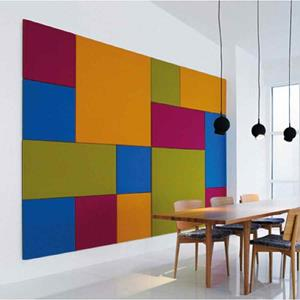 COS PINBOARD ACOUSTIC 1500x1200MM UNFRAMED