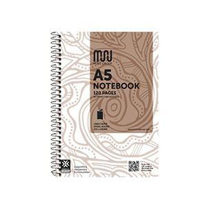 COS Muru Spiral Notebook A5 120 Pg