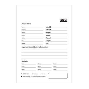 COS Recyc PP Pocket NotePad 112x77 96 Pg