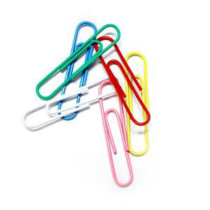 COS Paper Clips Large Coated 33mm