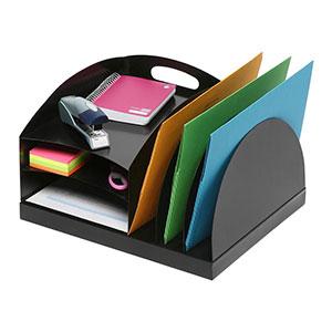 COS Marbig Desk Organiser 2 Way Metal