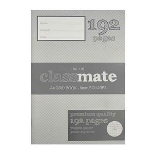 COS Classmate Grid 5mm Book A4 192 Pg