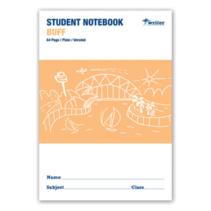 COS Writer Student 250x175mm Unruled 64 Pg