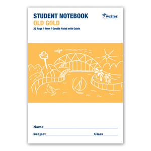 COS Writer NSW Notebook 4mm D/R 32Pg