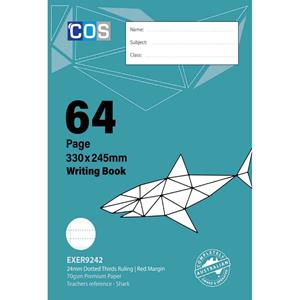COS CM Writing Book 330x245mm 24mm DT 64 Pg