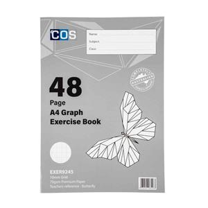 COS Graph Book A4 10mm Grid 70gsm 48Pg