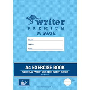 COS Writer Exercise Book A4 8mm 96Pg