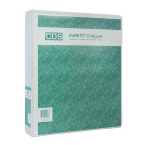 Insert Binder W/ Perm Label A4 2D 38mm