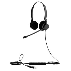 COS Jabra Headset BIZ 2300 USB UC Duo