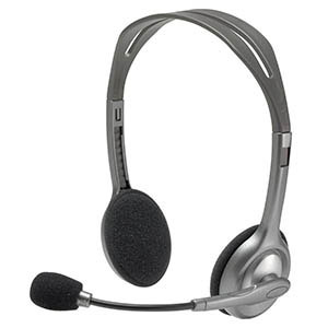 COS Logitech PC Headset Stereo H110
