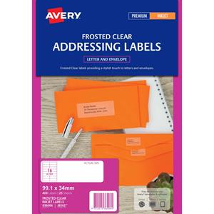 avery inkjet labels j8562 16 sheet labl5344 cos complete