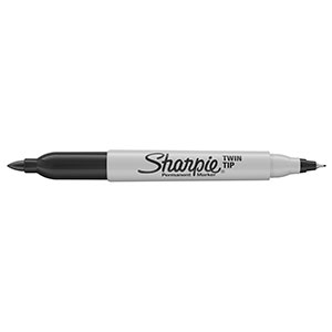 COS Sharpie Twin Tip Permanent Marker