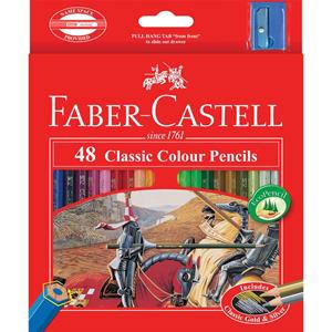 COS Faber-Castell Classic Hex Colour Pencils