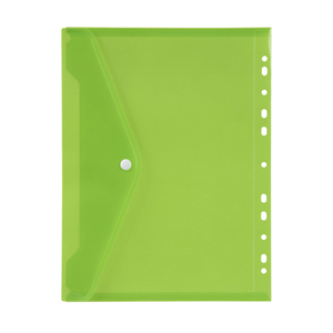 COS Marbig Binder Pocket with Button A4