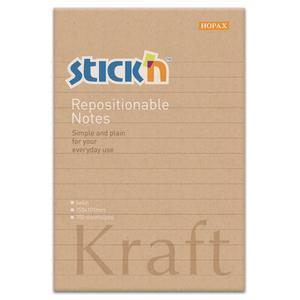 COS Stick'n Sticky Notes Kraft 150x101mm