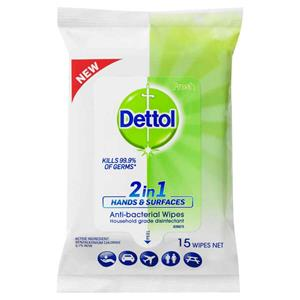 COS Dettol Wipes 2 in 1 Hand & Surface