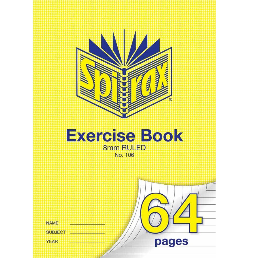 Exercise Book Cover Paper : Exercise book a mm single rule page cos complete