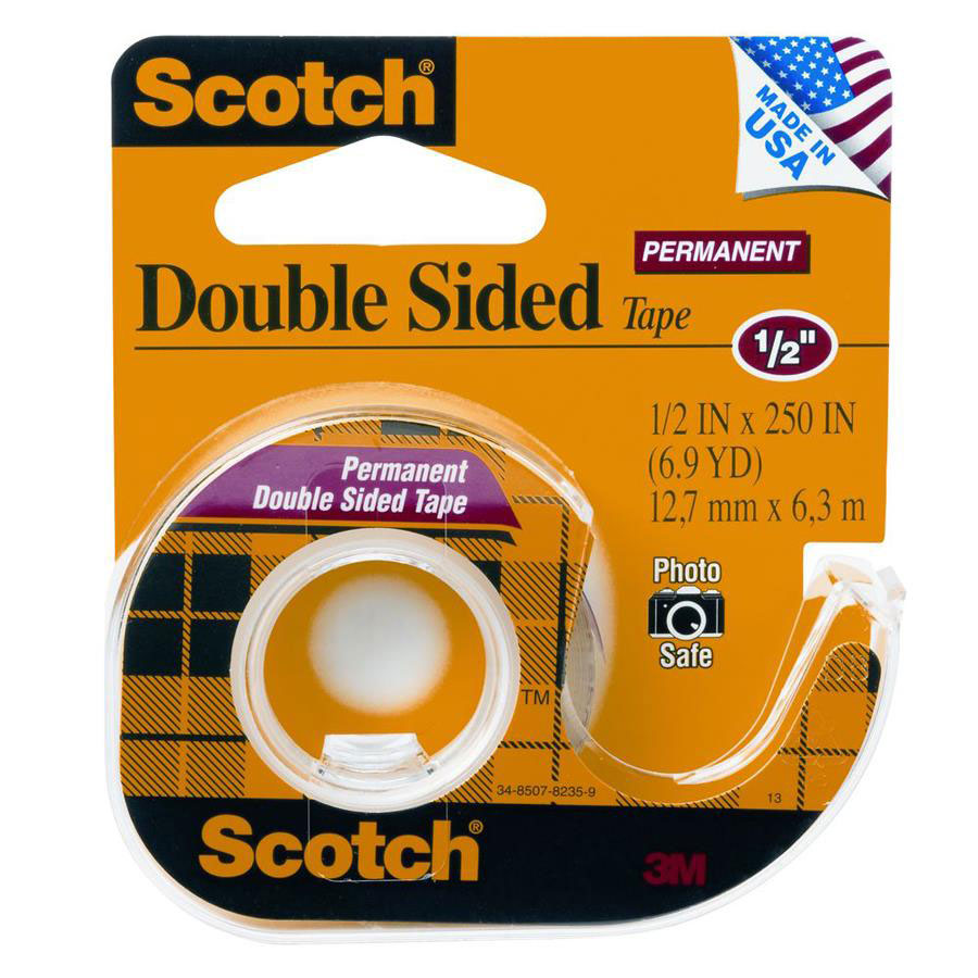 scotch double sided tape x cos complete. Black Bedroom Furniture Sets. Home Design Ideas