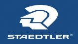 Staedtler logo blue background